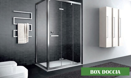 Box doccia in vendita presso di Stile piastrelle e arredobagno di Mussone Fulvio & C - Cerreto Castello (BI)