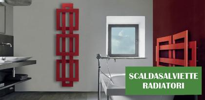 Scaldasalviette radiatori - Stile piastrelle e arredobagno