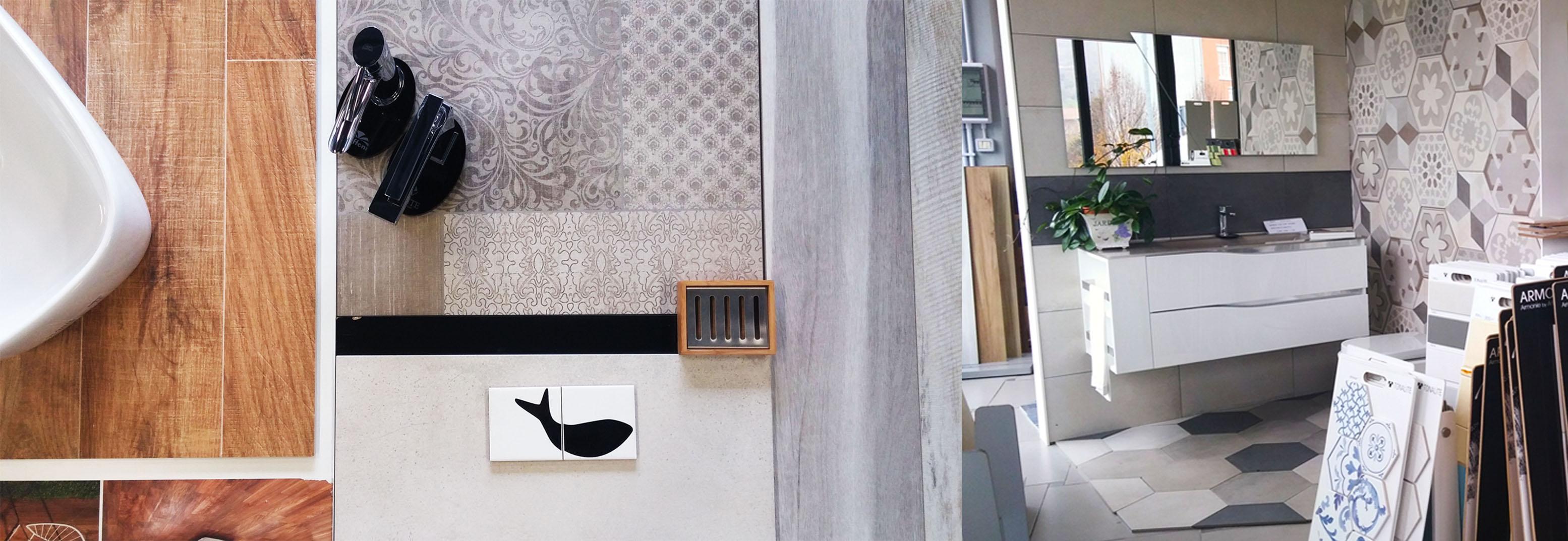 Photogallery di Stile Piastrelle e arredo bagno