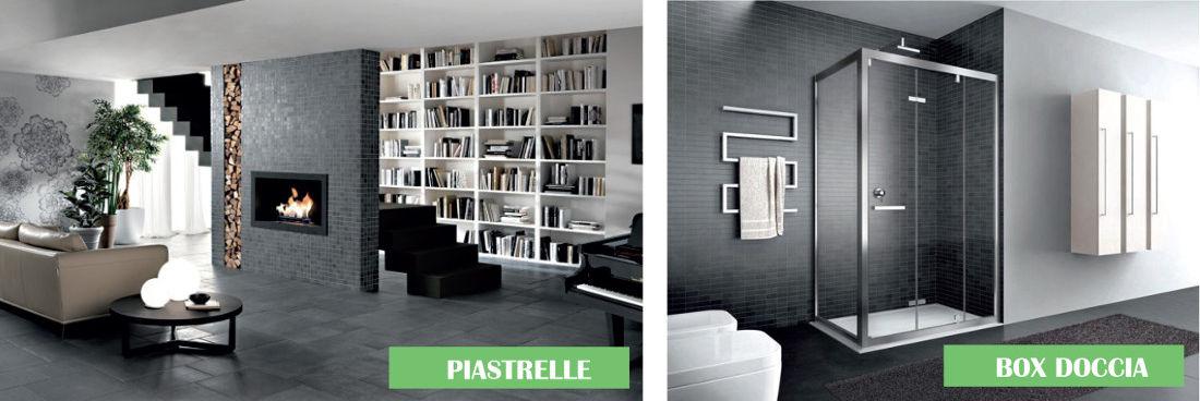 Vendita piastrelle box doccia, arredobagno e sanitari - Stile piastrelle e arredobagno di Mussone Fulvio & C - Cerreto Castello (BI)